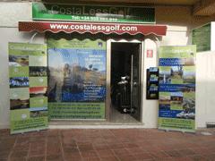 CostaLessGolf.com Shop Front